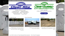 Clean Site Services | Clean Sweep Environmental